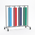 Paper Rack, Vertical, Four Roll