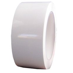 Patco 585 Polyethylene Dissimilar Metal Tape, White, 2 in x 108 ft, 24 Per Case