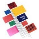 Plain and Printed Marking Flags