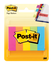 Post-it Page Markers 670-5AN 1/2 in x 1-3/4 in Asst Neon 100sht/pd, 5pd/pk