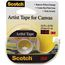 Scotch Artist Tape FA2010, 3/4 in x 10 yd