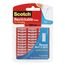 Scotch Restickable Strips R101, 1 in X 3 in, 6 Strips
