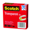 Scotch Transparent Tape 600-2P12-72, 1/2 in x 2592 in 2 pk