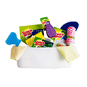 Scrubbers, Brushes, Cleaning Products