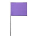 Solid Purple Marking Flags