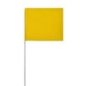 Solid Yellow Glo Marking Flags