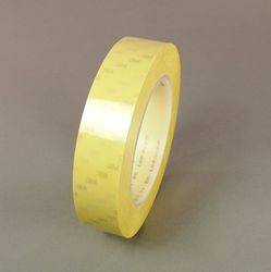 3M Polyester Film Electrical Tape 56-YELLOW-1/2X72YD*, 1/2 in X 72 yd (12,70mm x 66m), 72 rolls