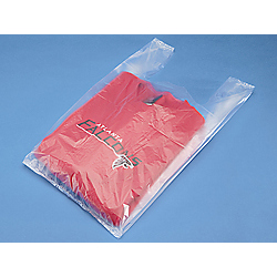 Clear Plastic Plain T-Shirt Bags, 12 in x 7 in x 22 in, High Density 13 Micron, 1000 Per Carton