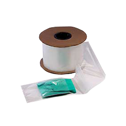 LAD 2677 2 MIL Clear Pre-Opened Bags, 5 in x 10 in, 1250 Per Roll