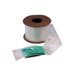 LAD 2642 2 MIL Clear Pre-Opened Bags, 4 in x 8 in, 1250 Per Roll