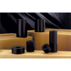 LINCOLN 7351 Black Poly-Ink 7351, Non-Porous, Ink Rolls, Fast Dry, Black, 15 Per Case