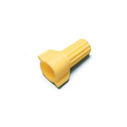 AL-ACW-YW-C ACTCAP - Wing, Yellow Thermoplastic, 100 Per Bag, 10 Bags Per Package