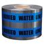 PRESCO D6105B52-457 6 x 1000 Ft, 5 Mil, Caution Buried WaterLine Below Blue Detectable Undergrou