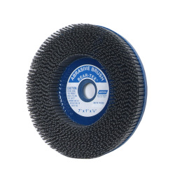 Norton 7 X 1 X 7/8 In. Non-Woven Abrasive Brush Depressed Center Type 27 80 Grit S/C