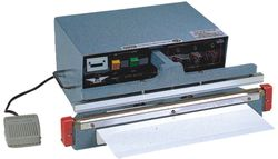 AIE-455A1 Automatic Table Top Single Impulse Heat Sealer, AIE455A1, 5 mm Seal Width, 18 Inch
