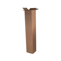 Regular Slotted Containers Brown, SingleWall, 12 x 12 x 60, 10 Per Bundle