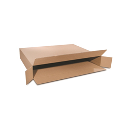 Regular Slotted Containers Brown, Heavy Duty SingleWal Full Overlap Large Picture Frame, 36 x 5 x 4