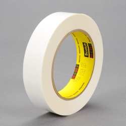 3M Repulpable Flying Splice Tape 906W White, 48mm x 55m, 24 per case Quarter Pack