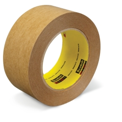 Scotch Repulpable Box Sealing Tape 2622 Kraft, 72mm x 440m, 4 per case Bulk