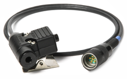 3M Peltor Push-To-Talk Adapter FL-U/94A, with 6 Pin MIL-C-55116 Connector for AN/PRC-148 and AN/PR