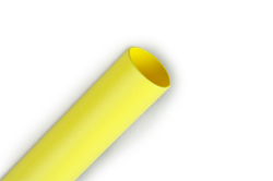 3M Heat Shrink Thin-Wall Tubing FP301-1/16-48-Yellow-Hdr-25 Pcs, 48 in Length sticks with header