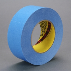 3M Repulpable Strong Single Coated Tape R3187 Blue, 84mm x 55m, 8 per case