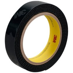 3M Fastener SJ3518FR Loop Flame Resistant S030 Black, 4 in x 50 yd 0.15 in engaged thickness, 1 pe