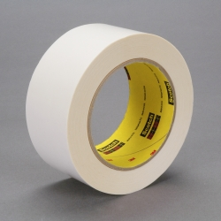 3M Repulpable Double Coated Splicing Tape 9038W White, 72mm x 33m, 12 per case
