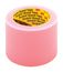 Scotch Label Protection Tape 821 Pink, 4 in x 72 yd, 8 rolls per case, Conveniently Packaged