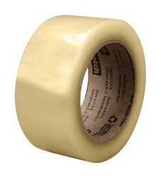 Scotch High Performance Recycled Corrugate Tape 3073 Clear, 72 mm x 100 m, 24 Individually Wrapped
