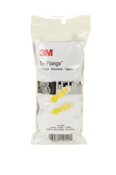 3M Tri-Flange Corded Earplugs in Vending Pack VP-P3000, 5 pair/pack, 100 packs/case