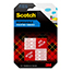 Scotch Mounting Tape 108, 1 in x 1 in (25,4 mm x 25,4 mm), 16 Squares