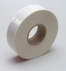 3M Diamond Grade Conspicuity Marking Roll 983-10 White, 2 in x 150 ft