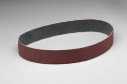 3M Cloth Belt 241E, 3/8 in x 13 in 80 XE-weight Fullflex, 50 per inner 200 per case, Obsolete