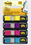 Post-it Flags 683-4AB, .47 in x 1.71 in Assorted Brights