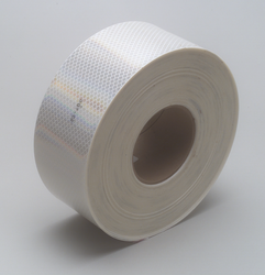 3M Diamond Grade Conspicuity Marking Roll 983-10 ES White, 3 in x 150 ft