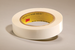 3M Double Coated Tape 444 Clear, 8 in x 36 yd 3.9 mil, 4 rolls per case