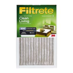 Filtrete Dust and Pollen Reduction Filters 9832DC-6, 20 in x 20 in x 1 in (50.8 cm x 50.8 cm x 2.5