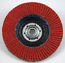 3M Flap Disc 747D Quick Change, 4-1/2 in x 5/8-11 Internal P120 X-weight, 10 per case