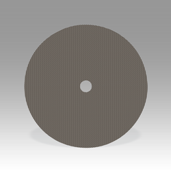 3M Flexible Diamond Heavy Duty QRS Cloth Disc 6022J, 10 in x 1 in M125 Micron Pattern 21, 1 per ca