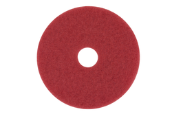 "BOX of 5 3M Red 5100 Buffer Pads 14/"" 175-600RPM"