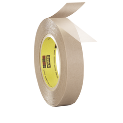 3M Double Coated Tape 9832 Clear, 6 in x 36 yd 4.8 mil, 4 rolls per case