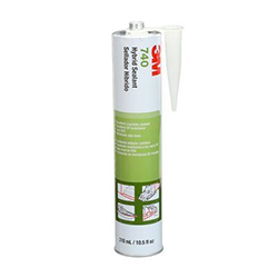 3M Adhesive Sealant 740 UV, Gray, 290 mL Cartridge, 12/case, NOT FOR RETAIL/CONSUMER USE