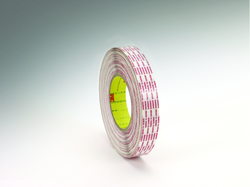 3M Double Coated Tape Extended Liner 476XL Translucent 1/4 dry edge, 1.8 in x 540 yd 6.0 mil, 3 pe
