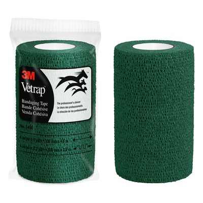 3M Vetrap Bandaging Tape Bulk Pack, 1410HG Bulk Hunter Green