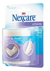 Nexcare Athletic Wrap, CR-3W, White, 3 in x 5 yds stretched