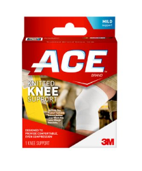 ACE Knitted Knee Support 207303, Small