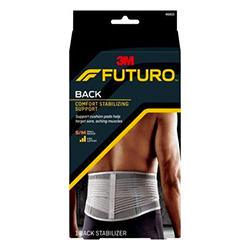 FUTURO Comfort Stabilizing Back Support, 46815ENR, Small/Medium