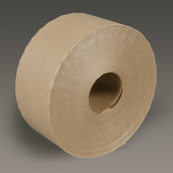 3M Water Activated Paper Tape 6144 Natural Economy Reinforced, 70 mm x 450 ft, 10 rolls per case B