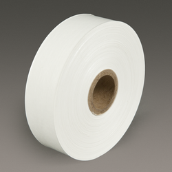 3M Water Activated Paper Tape6141 White Light Duty, 1-1/2 in x 500 ft, 20 rolls per case Bulk